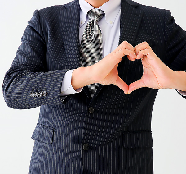 広島トップクラスの人妻デリヘル店【エレガンス】求人 「お客様への感謝と対応」イメージ